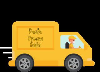 Consegna pasta fresca e gastronomia a domicilio